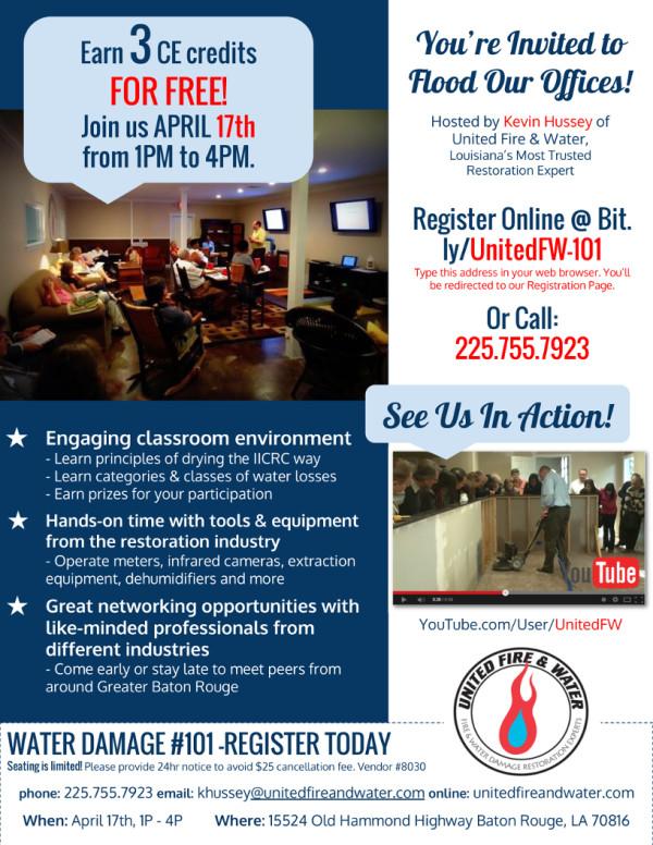 April 2014 CE Flyer – UFW